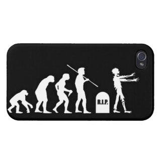 Lustige Wissenschaft Zombiedes evolutionsEvolution iPhone 4 Etui