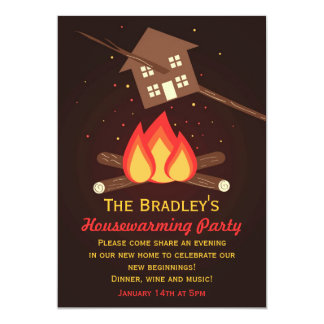 Lustige wörtliche Housewarming-Party Einladungen 12,7 X 17,8 Cm Einladungskarte