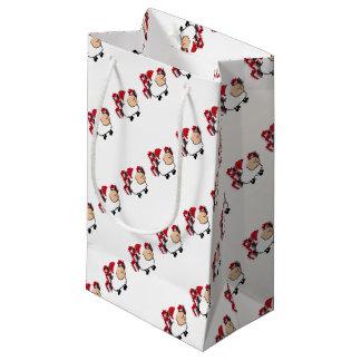 Lustige wunderliche niedliche Weihnachtsschafe Kleine Geschenktüte