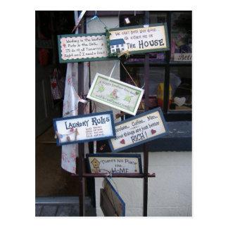 Lustige Zeichen Postkarten