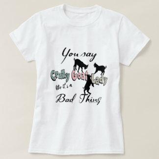 LUSTIGE ZIEGE | verrückte Ziegen-Dame Southwest T-Shirt