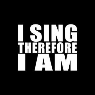 Der Sanger Und Singen Geschenke Zazzle De