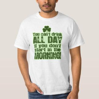 Lustigen St Patrick Tagesiren T-Shirt