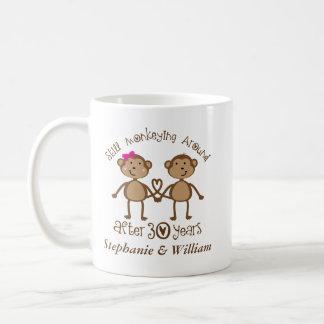 Lustiger 30. Hochzeits-Jahrestag sein ihrs Tassen