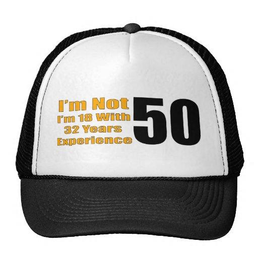 Lustiger 50. Geburtstags-Hut Baseball Mütze