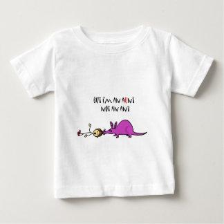 Lustiger Aardvark, der Ameisen-Cartoon Tante nicht Baby T-shirt