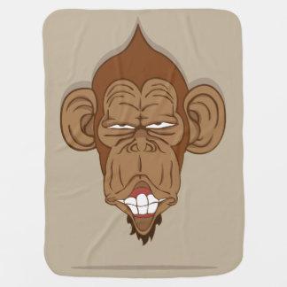 Lustiger Affe Babydecke