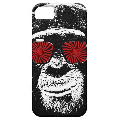 Lustiger Affe iPhone 5 Schutzhüllen