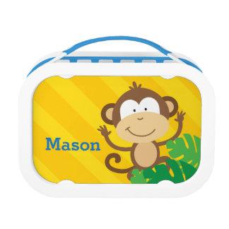 Lustiger Affe im DschungelLunchbox
