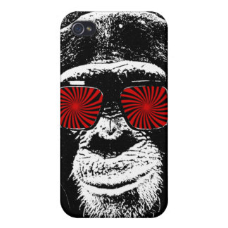 Lustiger Affe iPhone 4/4S Cover
