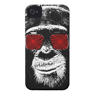 Lustiger Affe iPhone 4 Case-Mate Hülle