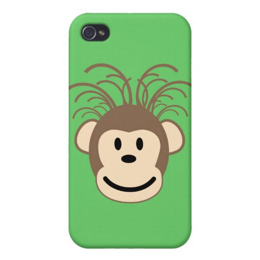 lustiger Affe Etui Fürs iPhone 4