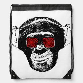 Lustiger Affe Sportbeutel