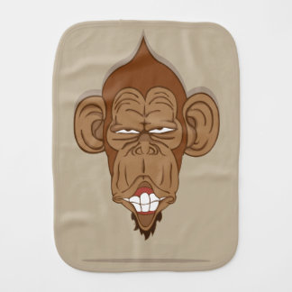 Lustiger Affe Spucktuch