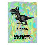 Lustiger alles- Gute zum Geburtstagkartenentwurf d Karten