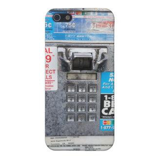 Lustiger allgemeiner Münztelefon-Stand iPhone 5 Etuis