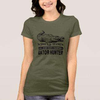 Lustiger Alligatorjäger - Gunna Git eine große T-Shirt
