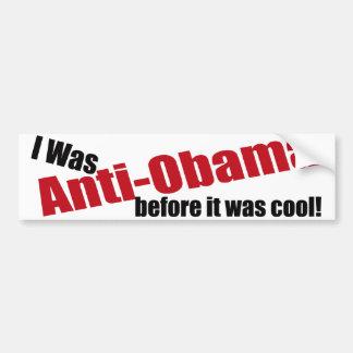 Lustiger Anti-Obama-Autoaufkleber Autoaufkleber