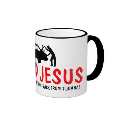 Lustiger Atheist fand ich Jesus Kaffee Haferl