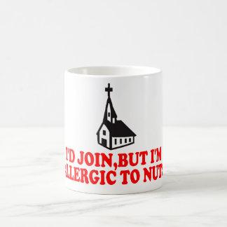 Lustiger Atheist Tasse
