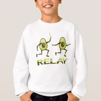 Lustiger Avocado-Staffellauf Sweatshirt