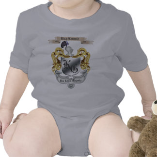Lustiger Baby-T - Shirt König-Baby His Royal