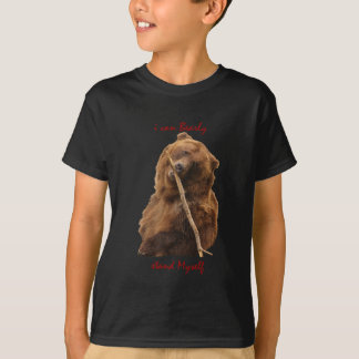 Lustiger Bär T-Shirt