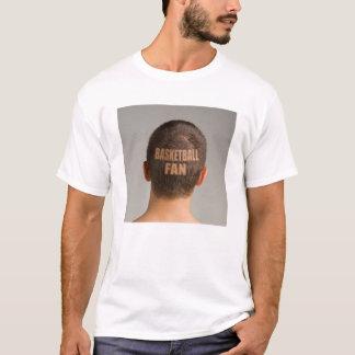 Lustiger Basketball-Fan-T - Shirt-Haarschnitt T-Shirt