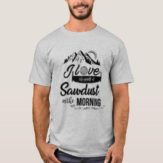 Lustiger Bau-, Woodworker-u. Tischler-T - Shirt