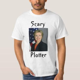 """Lustiger """"beängstigender Plotter-"""" T - Shirt"""