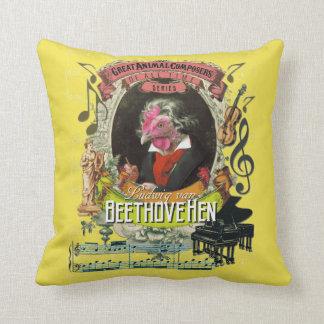 Lustiger Beethovehen Tierkomponist-Beethoven-Witz Kissen