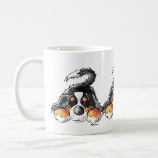 Lustiger Bernese GebirgshundeCartoon Kaffeetasse