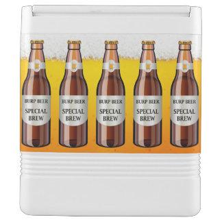 Lustiger Bier-Eis-Kasten Kühlbox