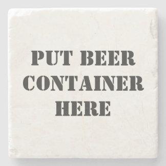 Lustiger Bier-Untersetzer Steinuntersetzer