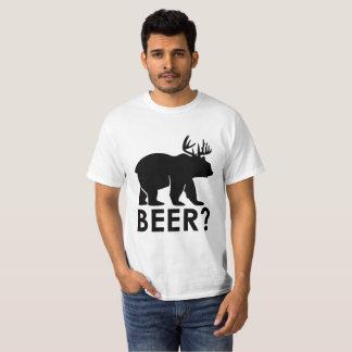 Lustiger Bier-Wortspiel-Gag-T - Shirt