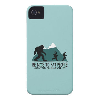 Lustiger Bigfoot iPhone 4 Hülle