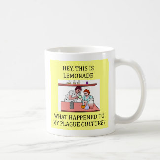 lustiger Biologie-Labradorwitz, lustiger Kaffeetasse