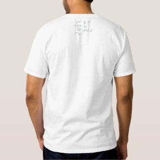 Lustiger Blindenschrift-T - Shirt (Entwurf ziehen
