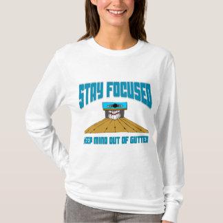 Lustiger Bowling behalten Verstand aus Gosse T-Shirt