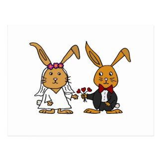 Lustiger Braut-und Postkarten