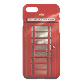 Lustiger britischer roter Telefon-Stand iPhone 8/7 Hülle