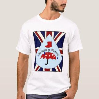 Lustiger britischer Wetter-T - Shirt