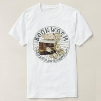 Lustiger Bücherwurm-alte Bücher T-Shirt