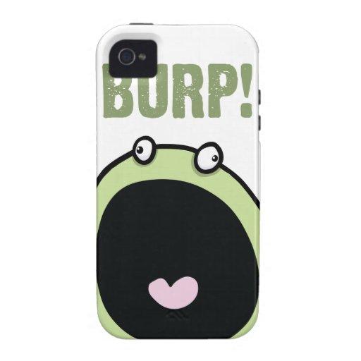 Lustiger Burp-Monster iPhone 4 Fall iPhone 4 Hüllen