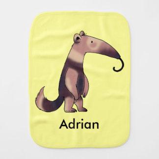 lustiger Cartoon Anteater - addieren Sie einfach Spucktuch