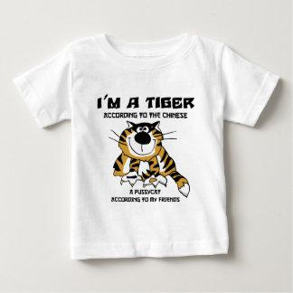 Lustiger chinesischer Tierkreis-Tiger-T - Shirt
