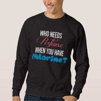 Lustiger Chlor-T - Shirt für Taucher u. Schwimmer