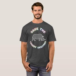 Lustiger Chubby Unicorn-T - Shirt