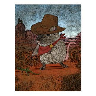 Lustiger Cowboy-Geburtstag Postkarten