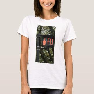 Lustiger Crosswalk sagt FU T-Shirt